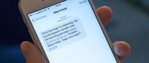 albert-heijn-online_sms-bezorgtijd