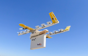 drones wings fedex